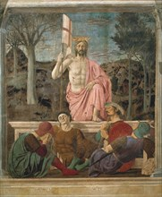 Piero della Francesca, La Résurrection