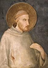 Simone Martini, Saint François d'Assise (détail)