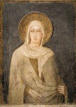 Simone Martini, Sainte Claire