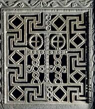 Panneau décoratif du chancel de la basilique San Apollinare Nuovo à Ravenne