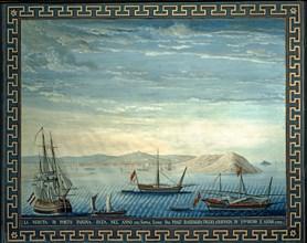Baseggio, Vue du port de Farina en 1781