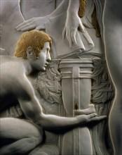 Campini, Figures allégoriques, hommage à Dante Alighieri (détail)