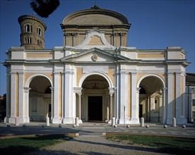 Façade de la cathédrale de Ravenne