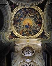 """Coupole de la chapelle latérale de la cathédrale de Ravenne, dite """"Madonna del sudore"""""""