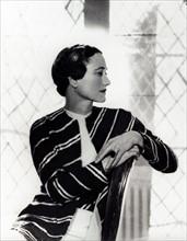 Portrait de Wallis Simpson par Cecil Beaton