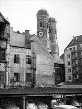 Reconstruction in Munich 1954