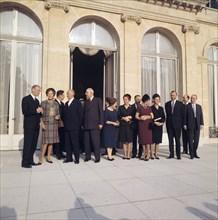 Visite officielle du chancelier allemand en France, 1964