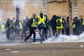 Manifestation de Gilets Jaunes, décembre 2018