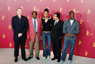 Terry George, Paul Rusesabagina, Sophie Okonedo, Alex Kitman Ho, Don Cheadle