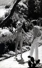 Brigitte Bardot et Gunter Sachs