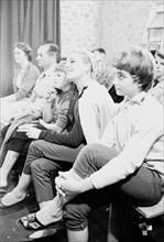 Simone Signoret et Catherine Allégret (1958)