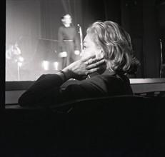 Simone Signoret et Yves Montand (1958)