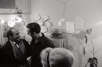 Léo Ferré et Yves Montand (1962)