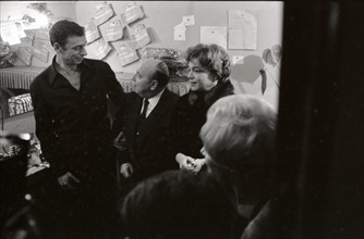 Yves Montand et Simone Signoret (1962)