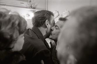 Serge Reggiani et Yves Montand (1962)