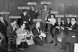 """Piaf, improvisation après le triomphe de """"La P'te Lili"""", mars 1951"""