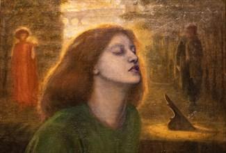 "Rossetti, ""Beata Beatrix"""