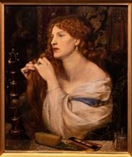 "Rossetti, ""Aurelia (Fazio's Mistress)"""