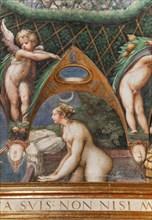 Parme, Fontanellato, Rocca Sanvitale, salle de Diane et Actéon
