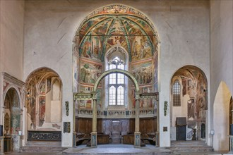 Montefalco, Museum of St. Francis, Church of St. Francis