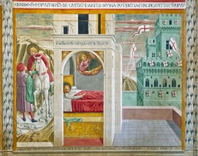 Montefalco, Museum of St. Francis, Church of St. Francis, Chapel of St. Jerome