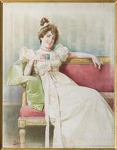 """Reggianini, """"Lady on the Sofa"""""""