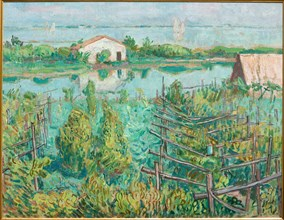 "Mario Vellani Marchi (1895-1979), ""Vineyard in Autumn-Torcello"""