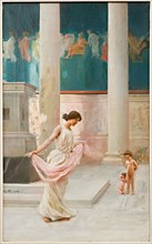 "Giovanni Muzzioli (1854-1894), ""Wedding dance"""