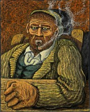 """Gino Covili, """"Smoker"""""""