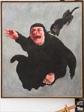 """Mario Venturelli (1925-1999); """"The Black Cat"""""""
