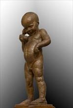 """Ulderico Fabbri (Ferrare 1897-1970): """"Child on the Phone"""""""