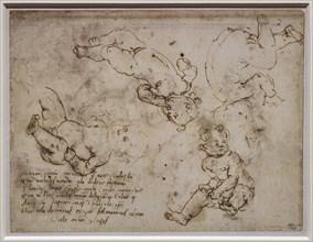 """""""Severale Infants"""", by Andrea Del Verrocchio"""