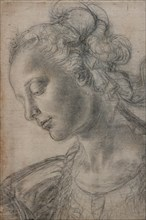 """Young Woman"", by Andrea Del Verrocchio"