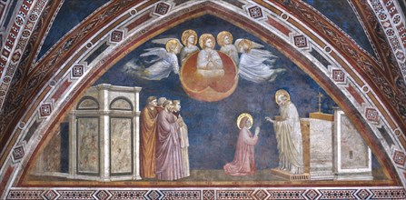 Assisi, the Lower Basilica of St Francis