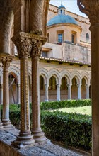 Monreale, Duomo, the cloister of the Benedectine monastery