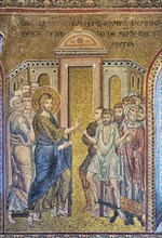 """Monreale, Duomo: """"The Miracle of the healing of the Possessed"""""""
