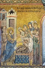 "Monreale, Duomo: ""Jesus brings back to life the widow's son"""