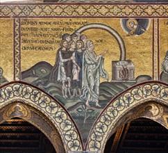 "Monreale, Duomo: ""The pact of the rainbow"""