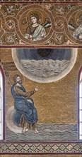 "Monreale, Duomo: ""Creation of the Sky and the Sea"""