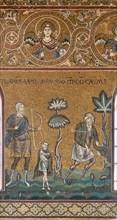"Monreale, Duomo: ""Lamech kills Cain"""