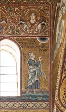 "Monreale, Duomo: ""God orders Noah to build the Ark"""
