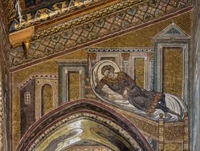 "Monreale, Duomo: ""Healing of the centurion's son"""