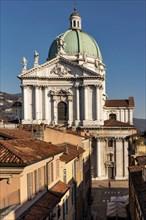 Vue de Brescia depuis l'hôtel Vittoria