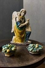 Benedetto Buglioni: Angel candle holder