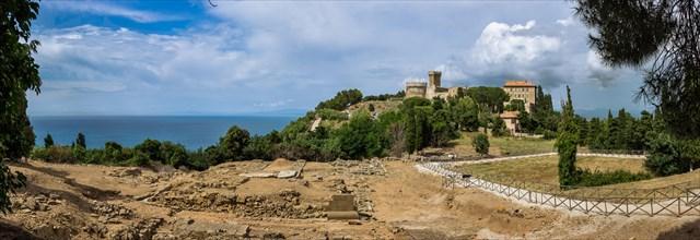 Parc archéologique de Baratti et Populonia