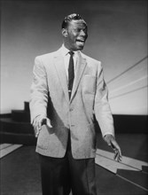 Nat King Cole, Singer, Musician and Actor, Portrait, 1957