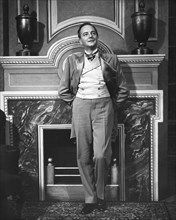 """Maurice Evans, on-set of the Broadway Play, """"Man and Superman"""", circa 1940's"""