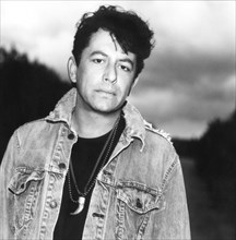 Joe Ely, American Singer, Songwriter and Guitarist, Portrait in Denim Jacket, circa early 1980's