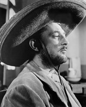 """Robert Mitchum, Close-Up Portrait, on-set of the Film """"The Wonderful Country"""", 1959"""