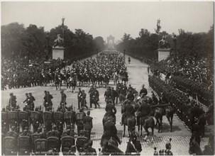 Funeral March, Victor Hugo, Avenue des Champs-Elysées, Paris, France, 1885